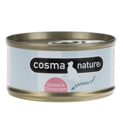 Set prova misto: 400 g Purizon & 6 x 70 g Cosma Nature