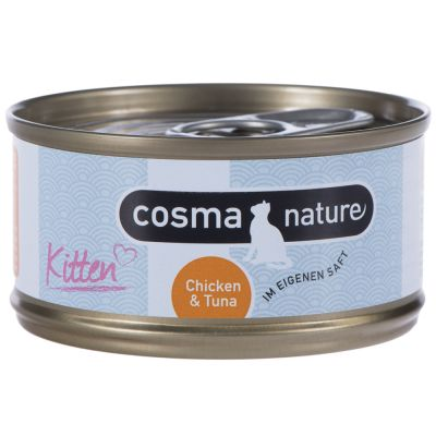 Set prova misto Kitten: 400g Purizon & 6 x 70g Cosma Nature
