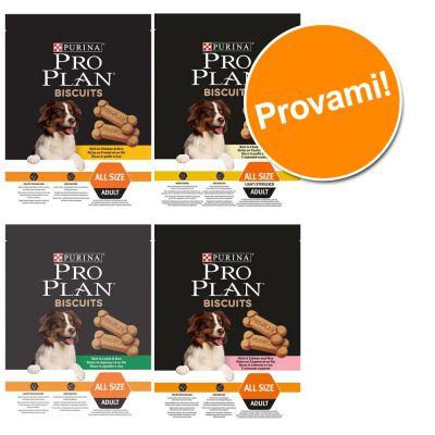 Set prova misto Purina Pro Plan Biscuits 4 x 400g