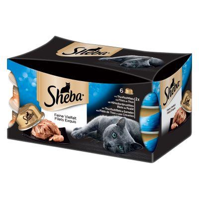 Set prova misto! Sheba Tresor 6 x 80 g