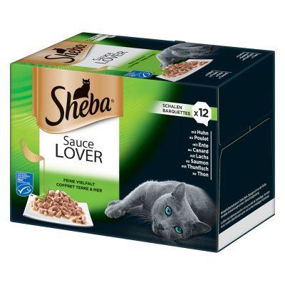 Set prova misto Sheba Vaschette 12 x 85 g