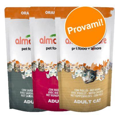 Set prova misto! 3 x 750 g Almo Nature Orange Label Adult