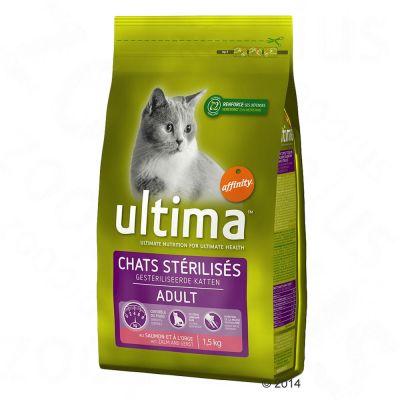 Set prova misto! 2 x 3 kg Ultima Cat Sterilized