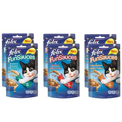 Set Risparmio misto! Felix Le Ghiottonerie in gelatina + FunSauces