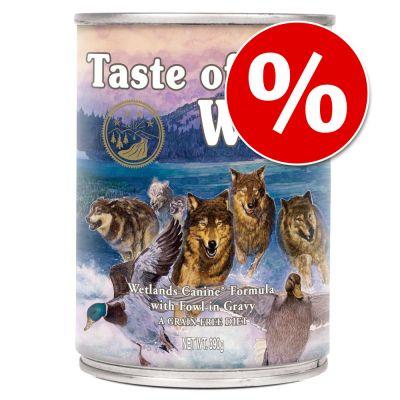 Set risparmio! Taste of the Wild 12 x 390 g
