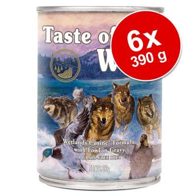 Set risparmio! Taste of the Wild 6 x 390 g
