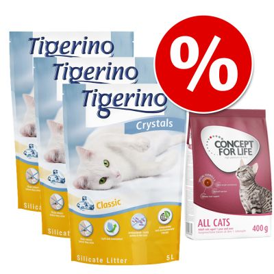 Set risparmio Tigerino Crystals + Concept for Life