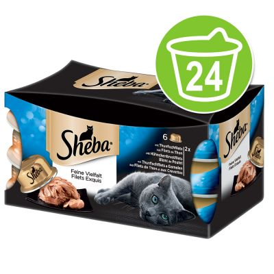 Sheba Tresor assortito 24 x 80 g