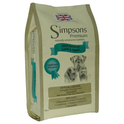 Simpsons Premium Adult Sensitive agneau, pommes de terre