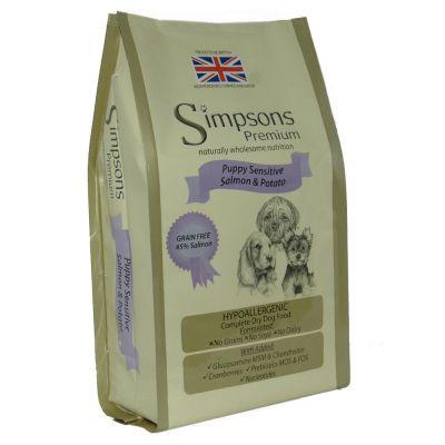 Simpsons Premium Sensitive Puppy Salmone & Patate
