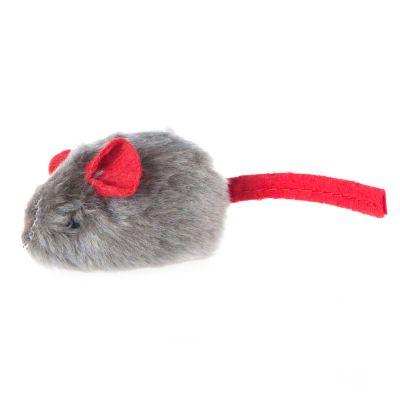 souris sonore avec menthe chat pour chat zooplus. Black Bedroom Furniture Sets. Home Design Ideas