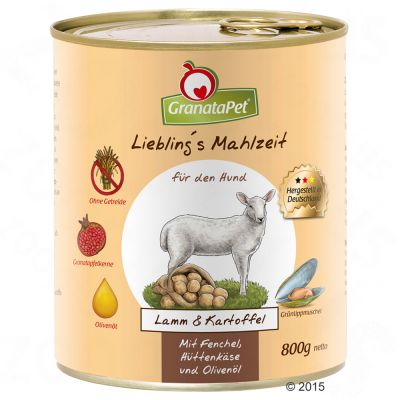Sparpaket GranataPet Liebling's Mahlzeit  12 x 800 g