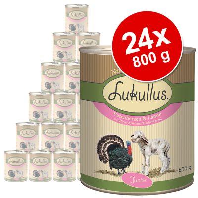 Sparpaket Lukullus Junior 24 x 800 g