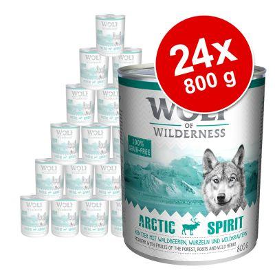 Sparpaket Wolf of Wilderness Adult 24 x 800 g
