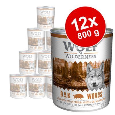 Sparpaket Wolf of Wilderness Adult 12 x 800 g