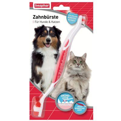 Spazzolino da denti Beaphar per cani e gatti