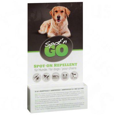 Spot'n Go Tekenbeschermingsmiddel voor Honden