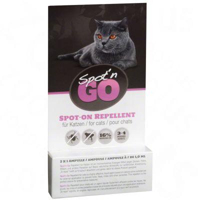 Spot'n Go Tekenbeschermingsmiddel voor Katten