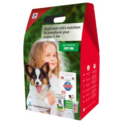 Starter Pack Hill's Science Plan Puppy Mini pour chiot