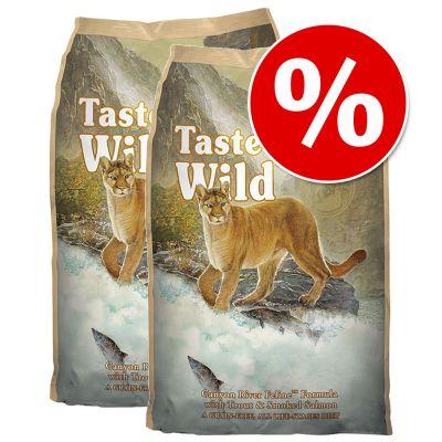 Taste of the Wild Dry Cat Food Economy Packs 2 x 7kg