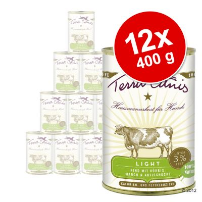 Terra Canis Light 12 x 400 g