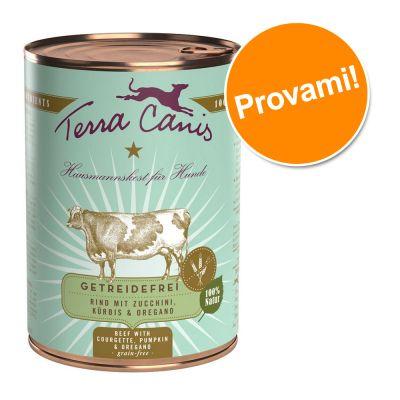 Terra Canis Menù Senza cereali 12 x 400 g