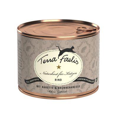 Terra Faelis, viande 6 x 200 g pour chat