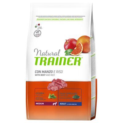 Trainer Natural Medium Adult Manzo & Riso