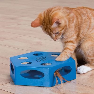 Trixie Turning Feather Cat Toy Free P Amp P 49