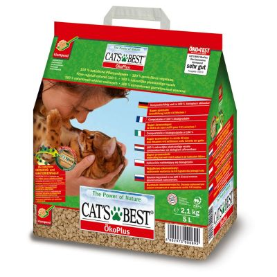 Tutto in 1 click! 20 l Cat's Best + Gourmet Perle