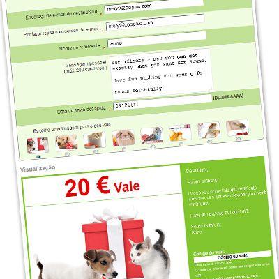Vales Presente zooplus