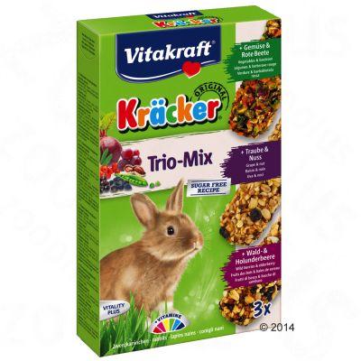 Vitakraft Dwergkonijnen-Biscuits Trio-Mix