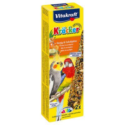 Vitakraft Kräcker galletas para ninfas y cotorras