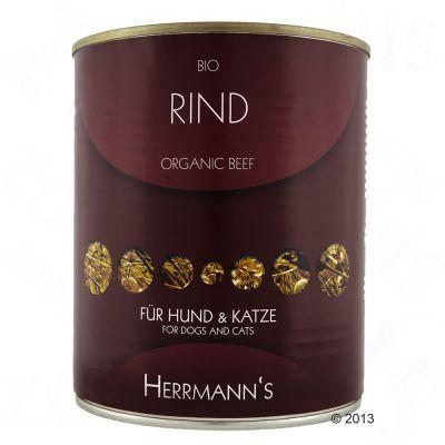 Voordeelpakket Herrmann's Vlees Puur 24 x 800 g Hondenvoer