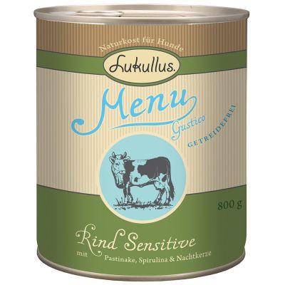 Voordeelpakket Lukullus Menu Gustico 24 x  800 g Hondenvoer