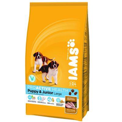 Voordelig Dubbelpak: IAMS Hondenvoer 2 x 12 kg