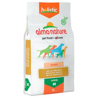 Welcome Kit Puppy & Junior Almo Nature Holistic + Hunter Calcium Milk Bone