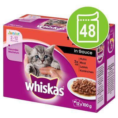 Whiskas Junior buste 48 x 100 g