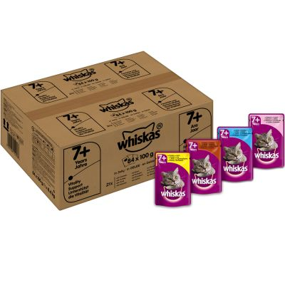 Whiskas 7+ Senior Buste 84 x 100 g