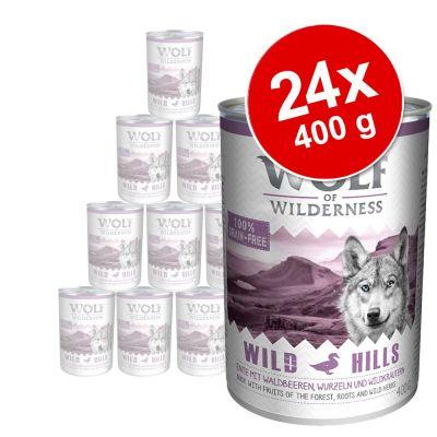Wolf of Wilderness Adult 24 x 400 g