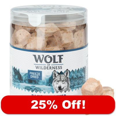 Wolf of Wilderness Freeze-dried Premium Dog Snacks - 25% Off!*