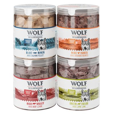 Wolf of Wilderness Freeze-dried Premium Dog Snacks - 25% Off!*