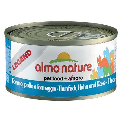48 x 70g almo nature legend wet cat food   mega pack
