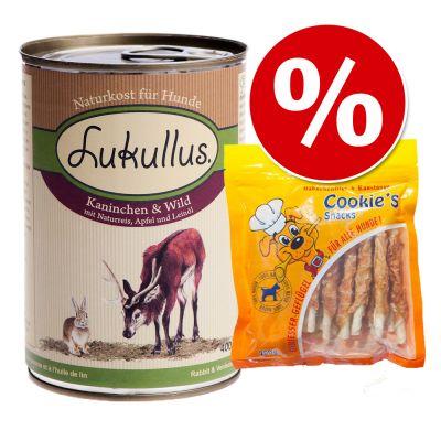 6 x 400 g Lukullus + 200 g Cookie's