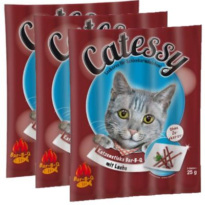 3 x 5 pz Catessy Bar-B-Q Sticks