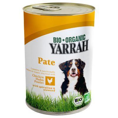 Yarrah Bio Paté Pollo con Alghe & Spirulina