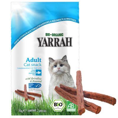 Yarrah Bio Sticks da masticare con pesce