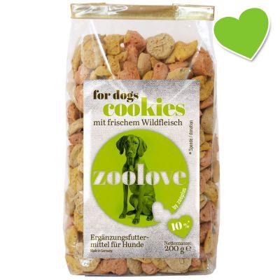 zoolove galletas con venado para perros