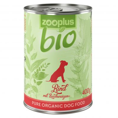 zooplus Bio Manzo con Grano saraceno