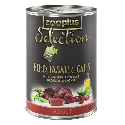zooplus Selection Adult Manzo, Fagiano & Oca